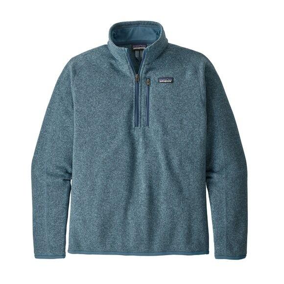 Patagonia Men's Better Sweater™ 1/4-Zip Fleece : Pigeon Blue
