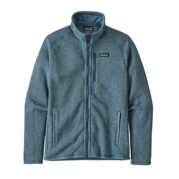 Patagonia Men's Better Sweater Fleece Jacket : Pigeon Blue