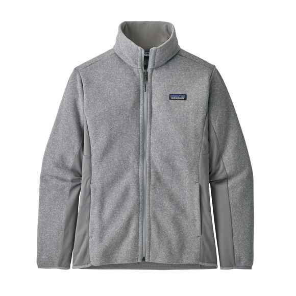 Patagonia Patagonia Women's Lightweight Better Sweater Fleece Jacket: Feather Grey