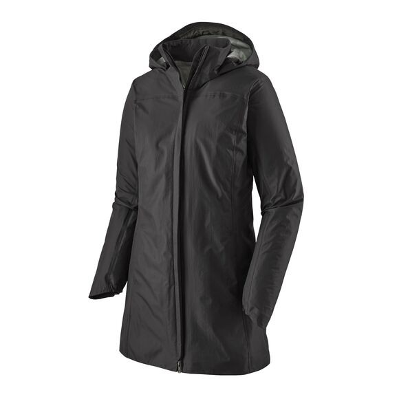 Patagonia Women's Torrentshell 3L Waterproof City Coat : Black