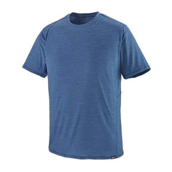Patagonia Men's Capilene Cool Lightweight Shirt : Superior Blue - Light Superior Blue X-Dye