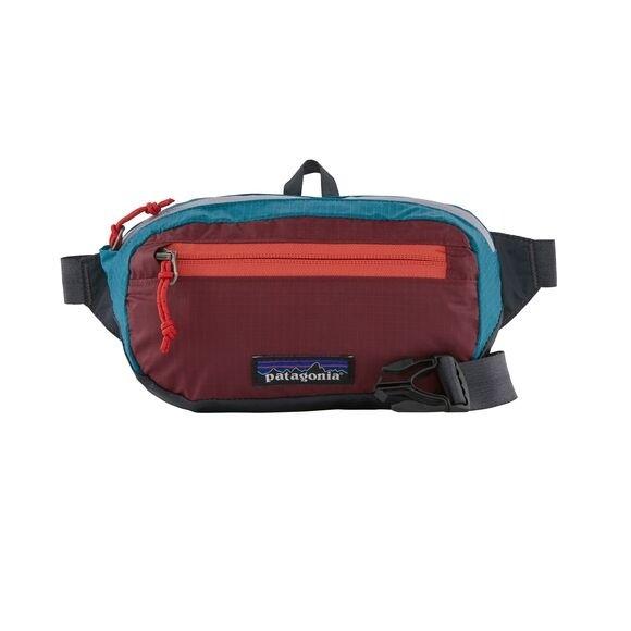 Patagonia Ultralight Black Hole® Mini Hip Pack 1L : Patchwork: Roamer Red
