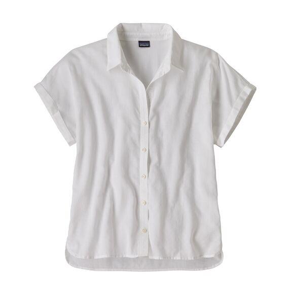 Patagonia Womens Lightweight A/C Shirt : White