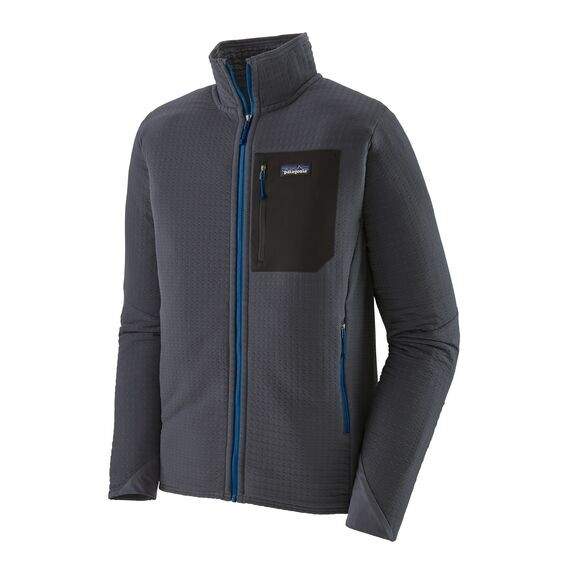 Patagonia Men's R2 TechFace Jacket : Smolder Blue