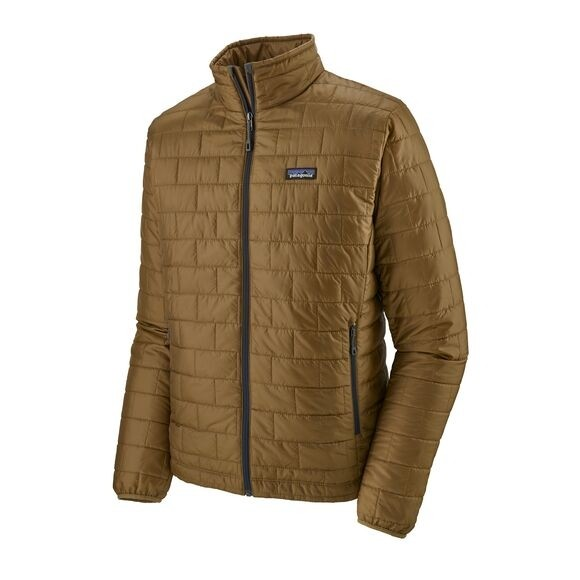 Patagonia Mens Nano Puff Jacket : Coriander Brown