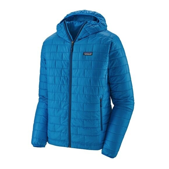 Patagonia Mens Nano Puff Hoody : Andes Blue w/Andes Blue