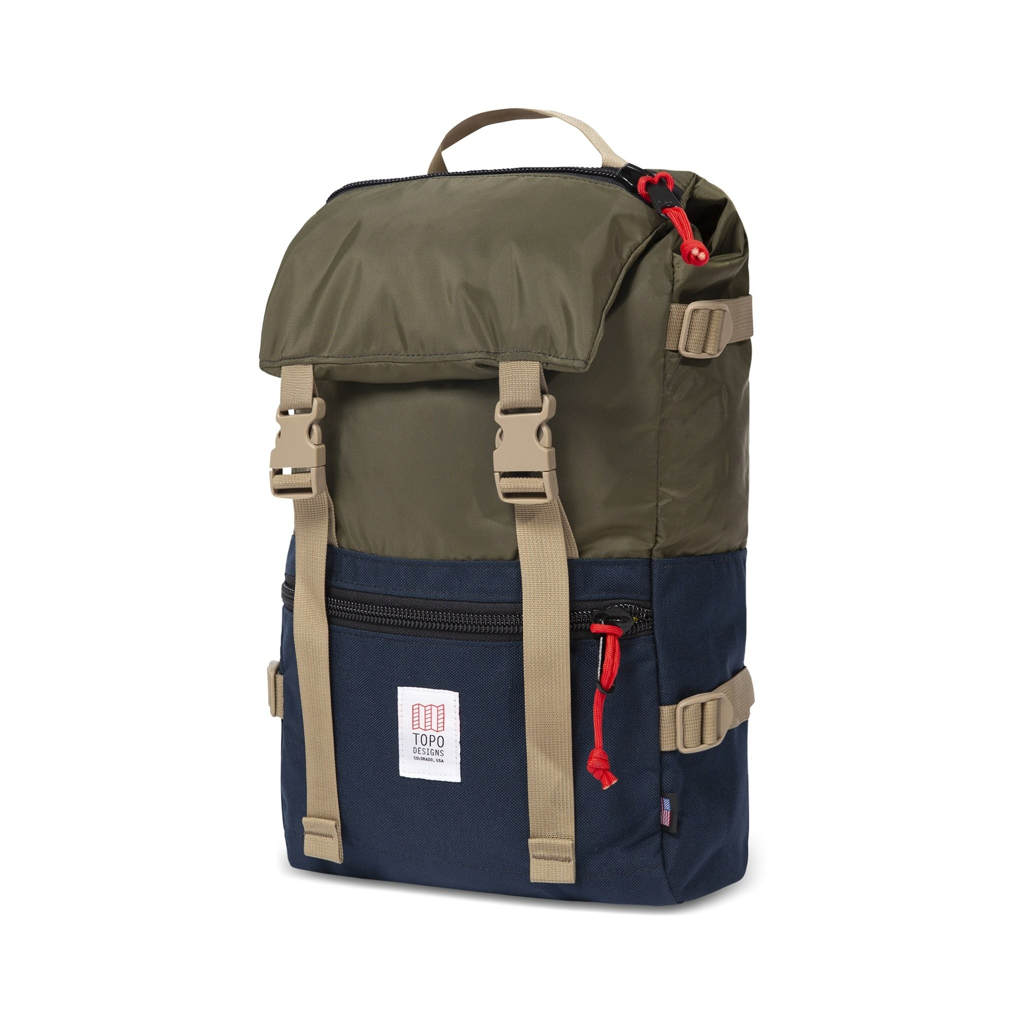 Topo Designs Rover Pack 20L : Olive / Navy