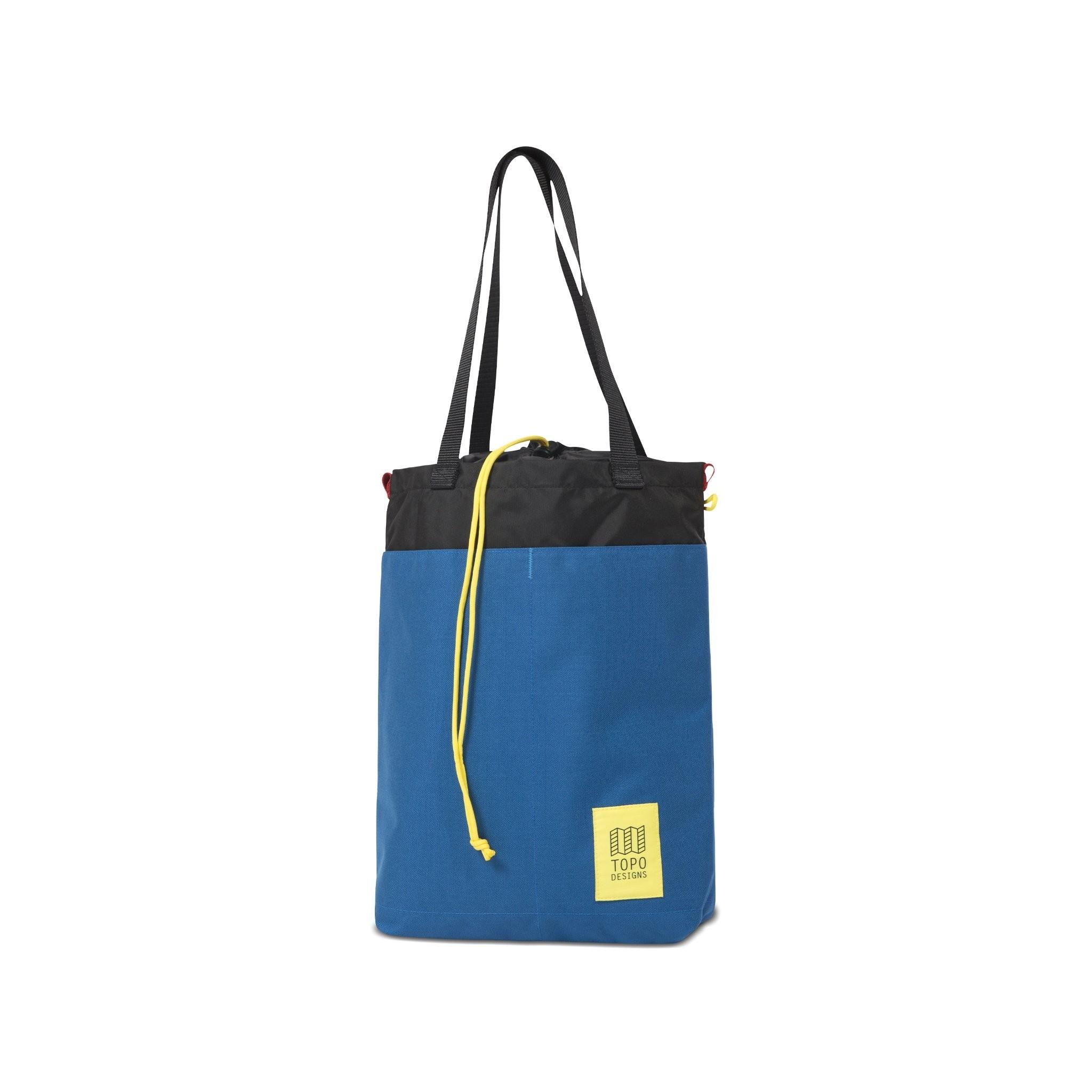Topo Designs Cinch Tote 12L : Blue / Black