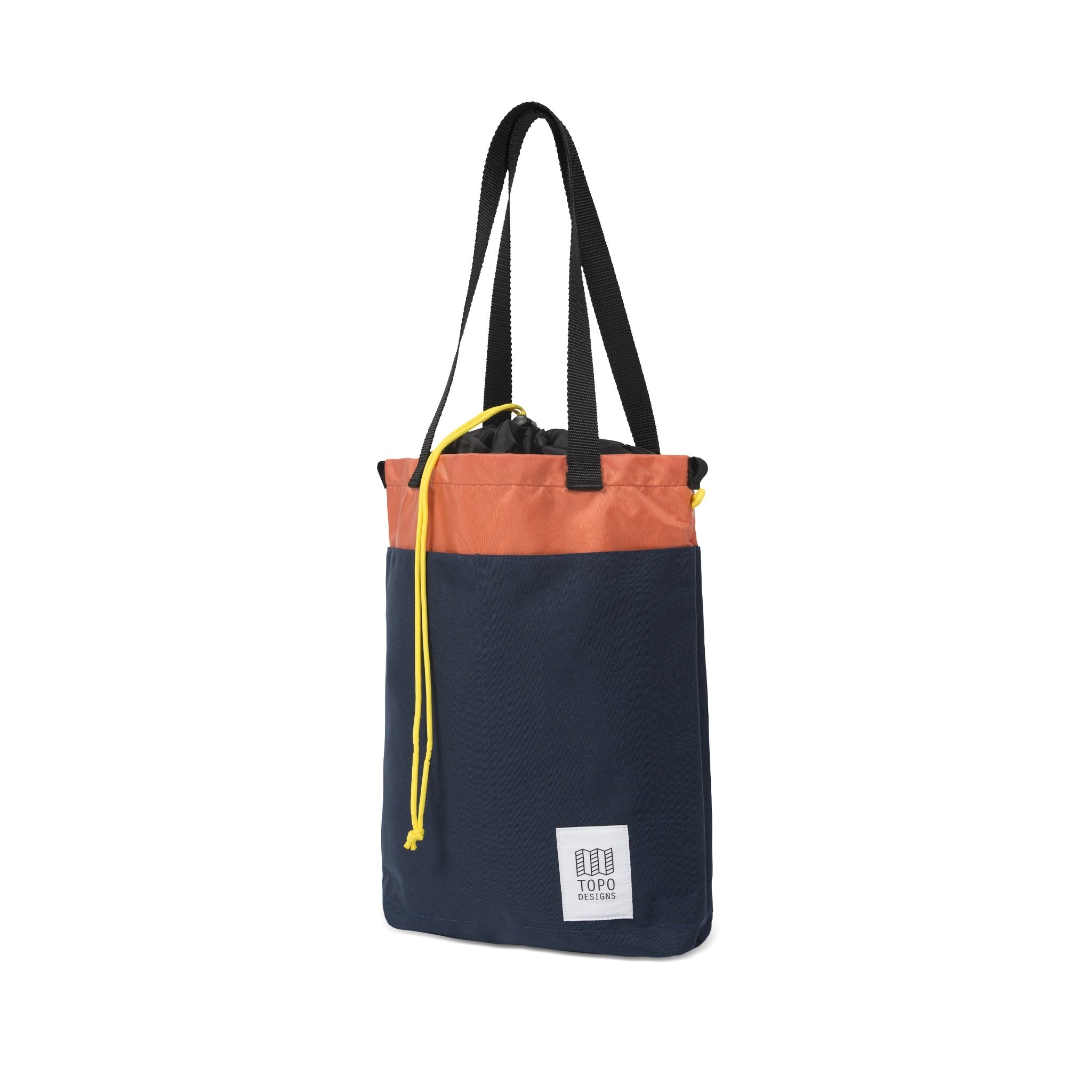 Topo Designs Cinch Tote 12L : Navy / Coral