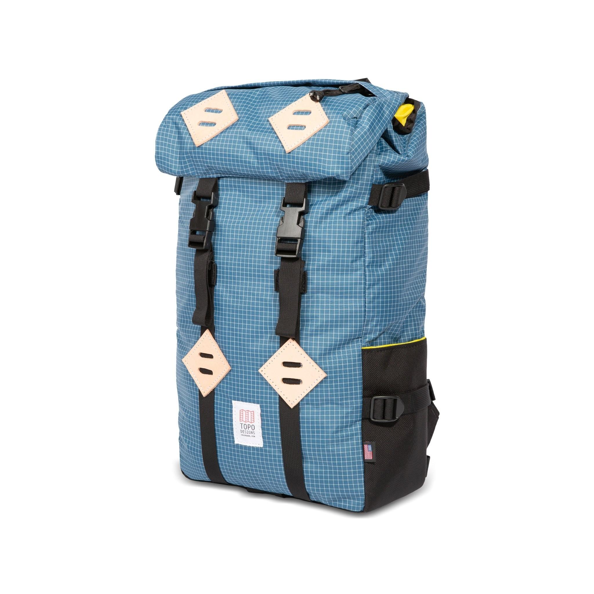 Topo Designs Klettersack 25L : Blue / White Ripstop