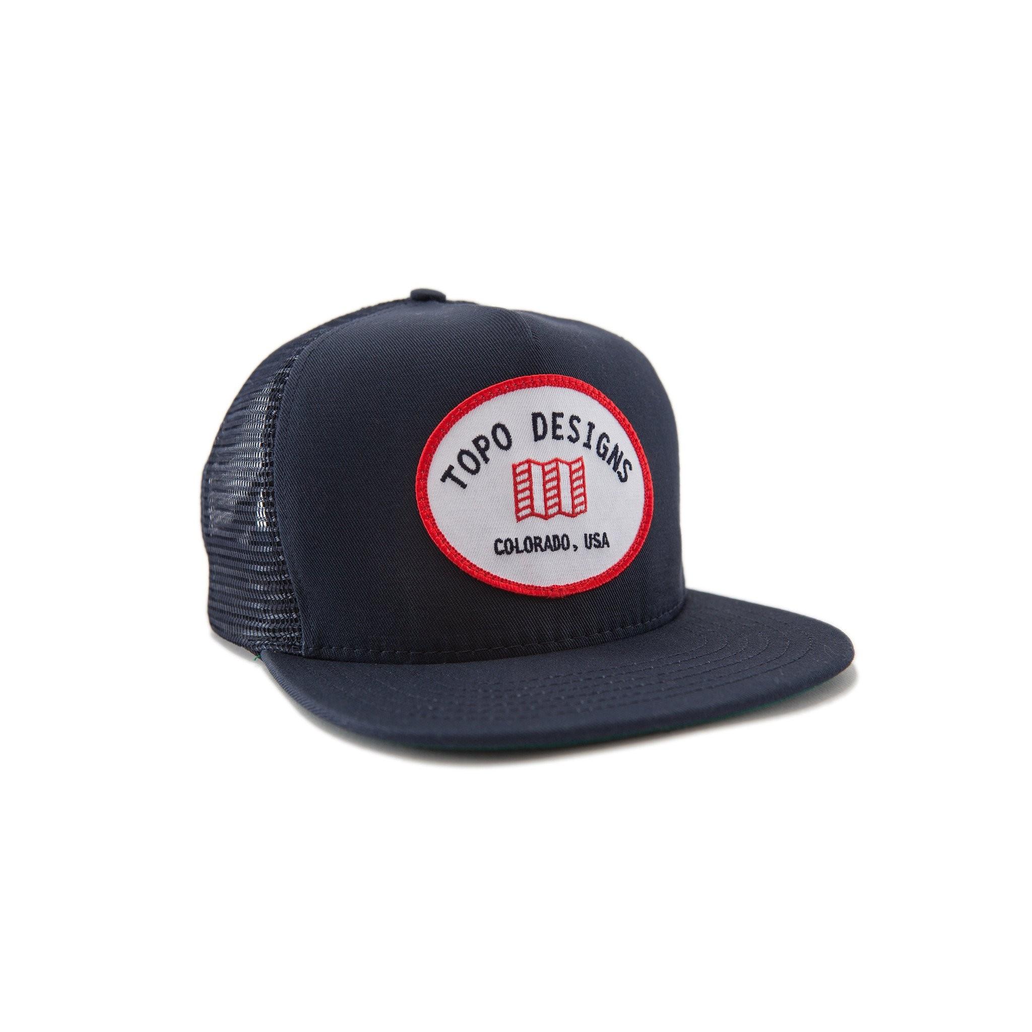 Topo Designs Snapback Hat : Navy