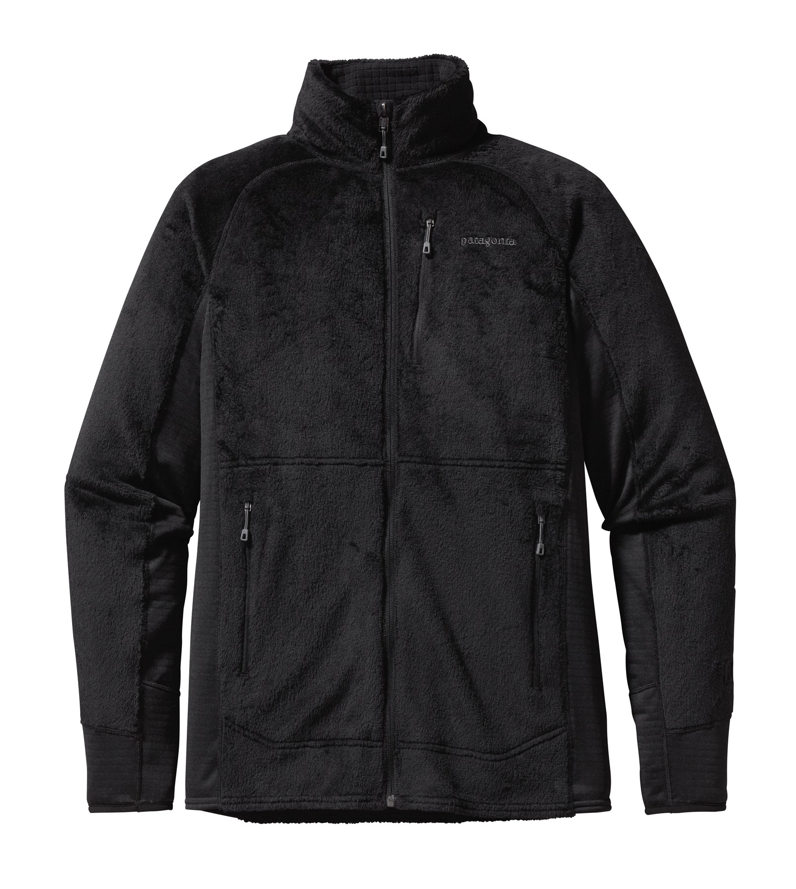 Patagonia Mens R2 Fleece Jacket : Black