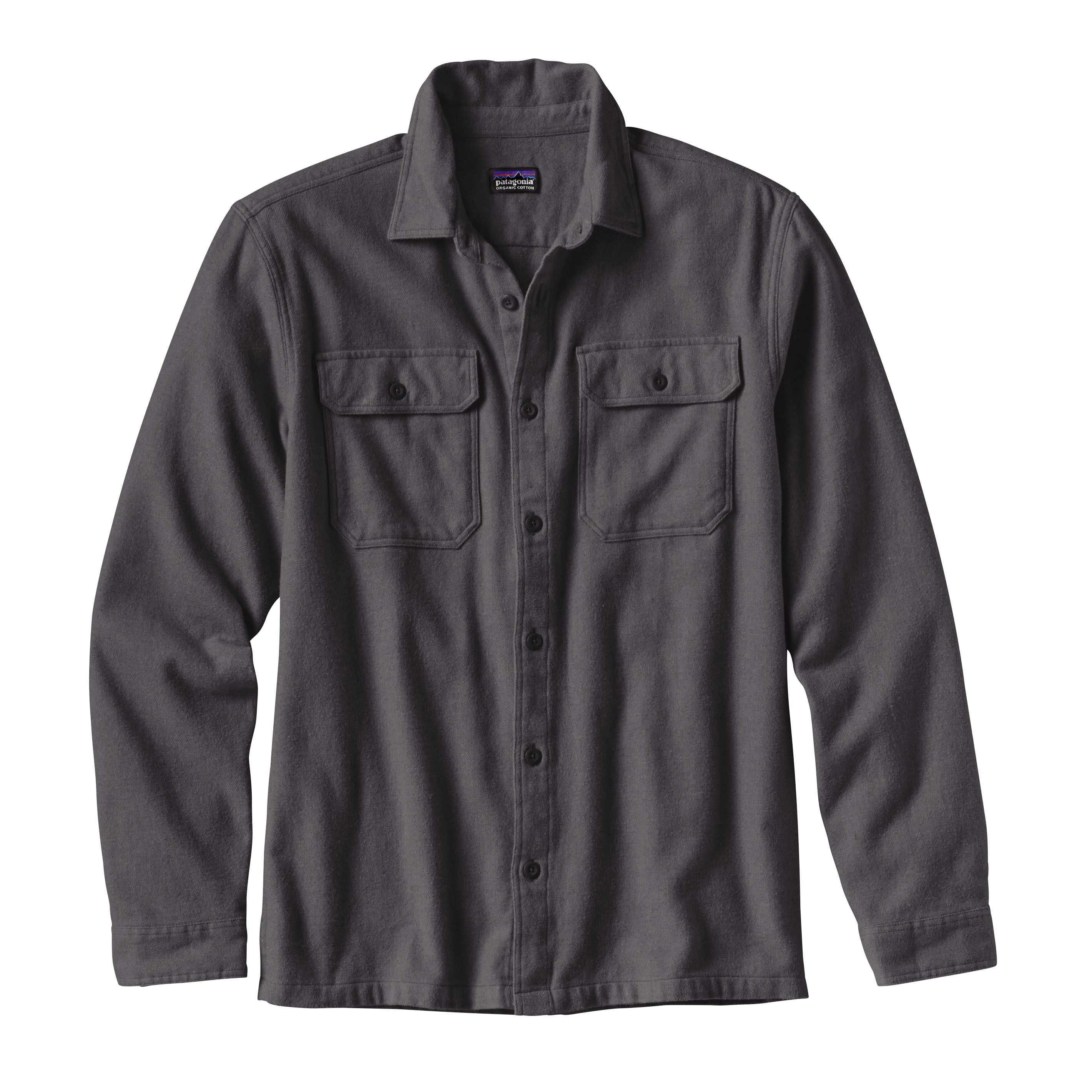 Patagonia Fjord Flannel Shirt : Forge Grey