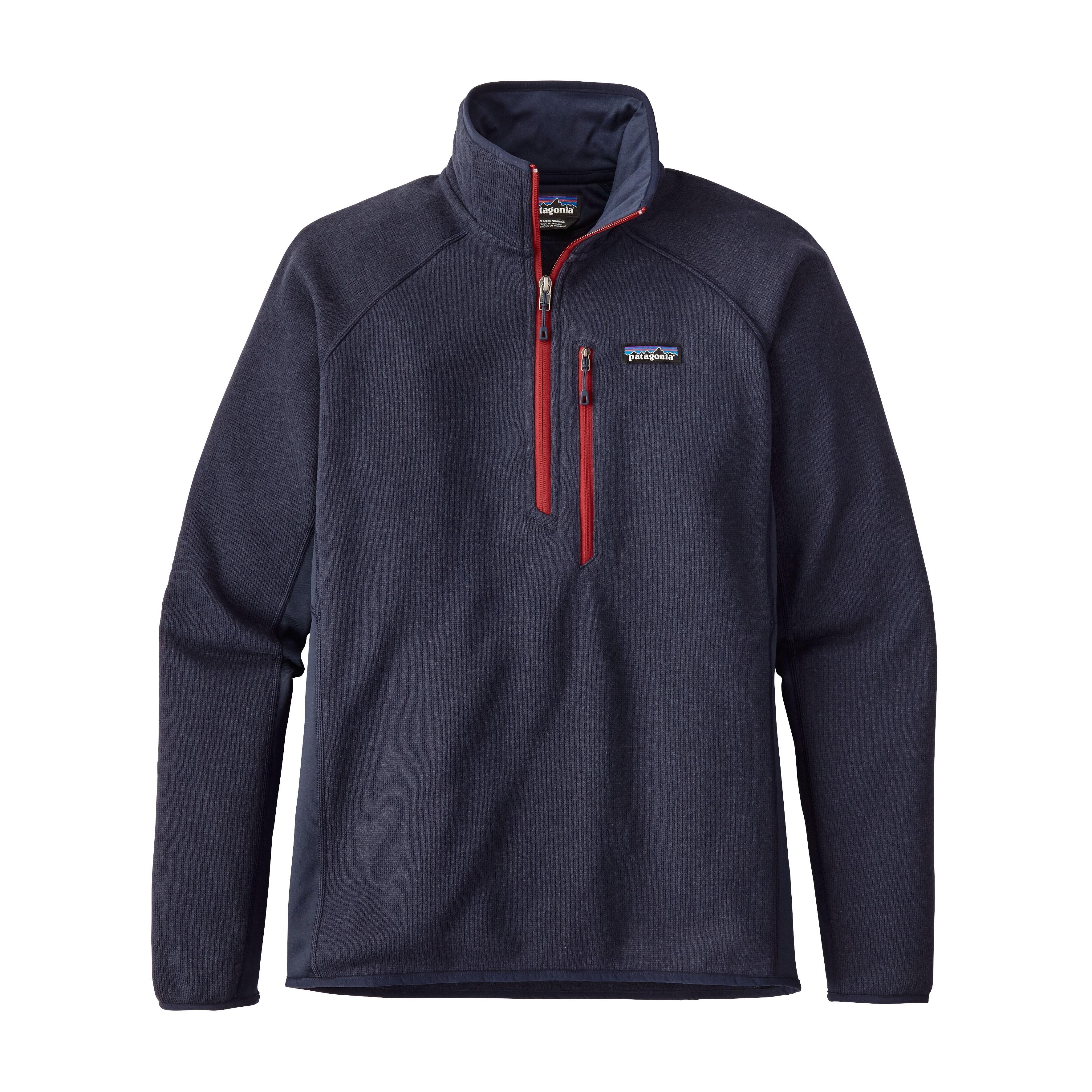 Patagonia Performance Better Sweater™ Fleece 1/4-Zip : Navy Blue