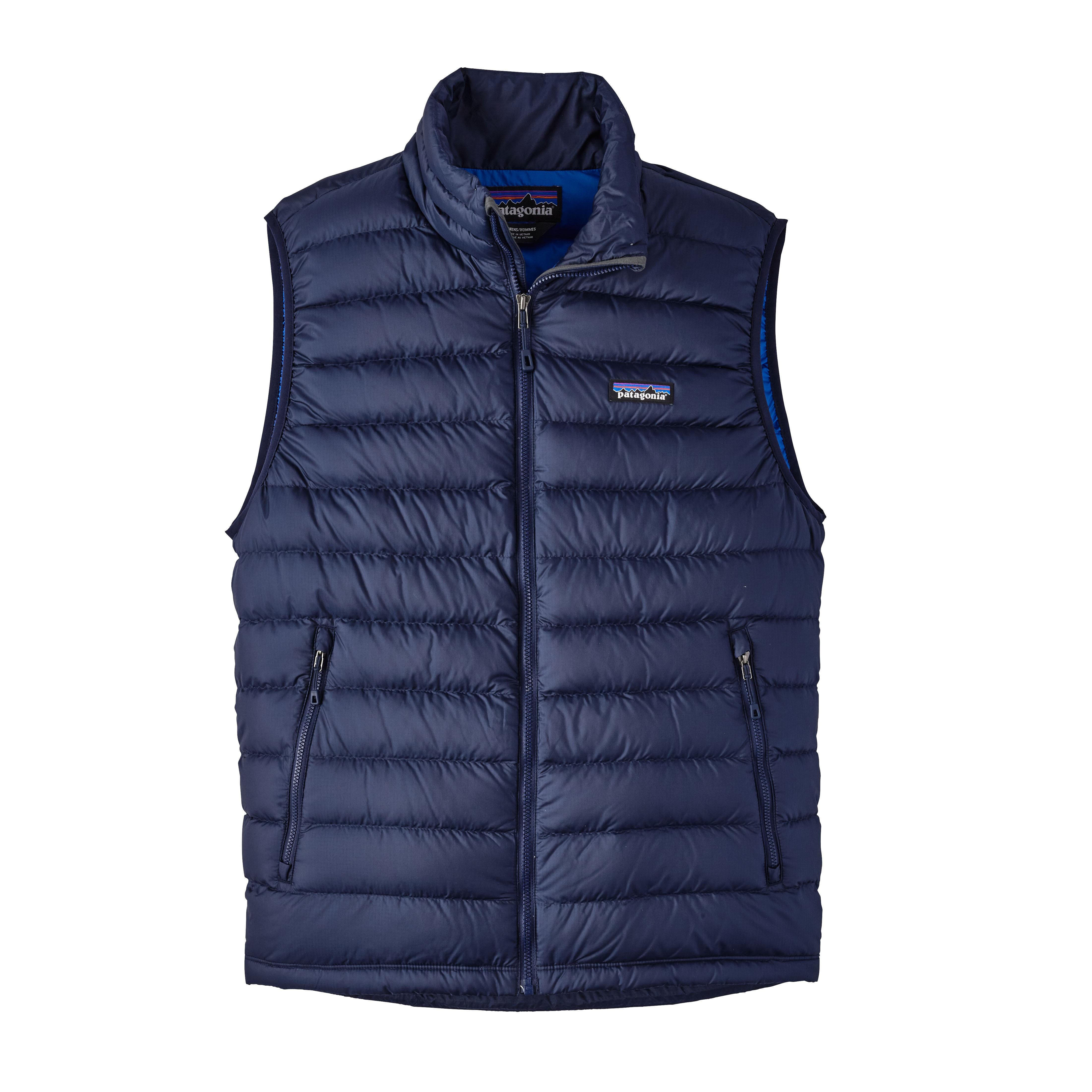 Patagonia Men's Down Sweater Vest : Navy Blue