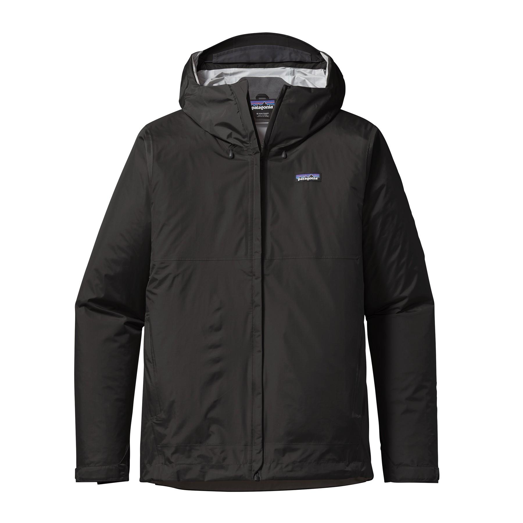 Patagonia Mens Torrentshell Jacket : Black