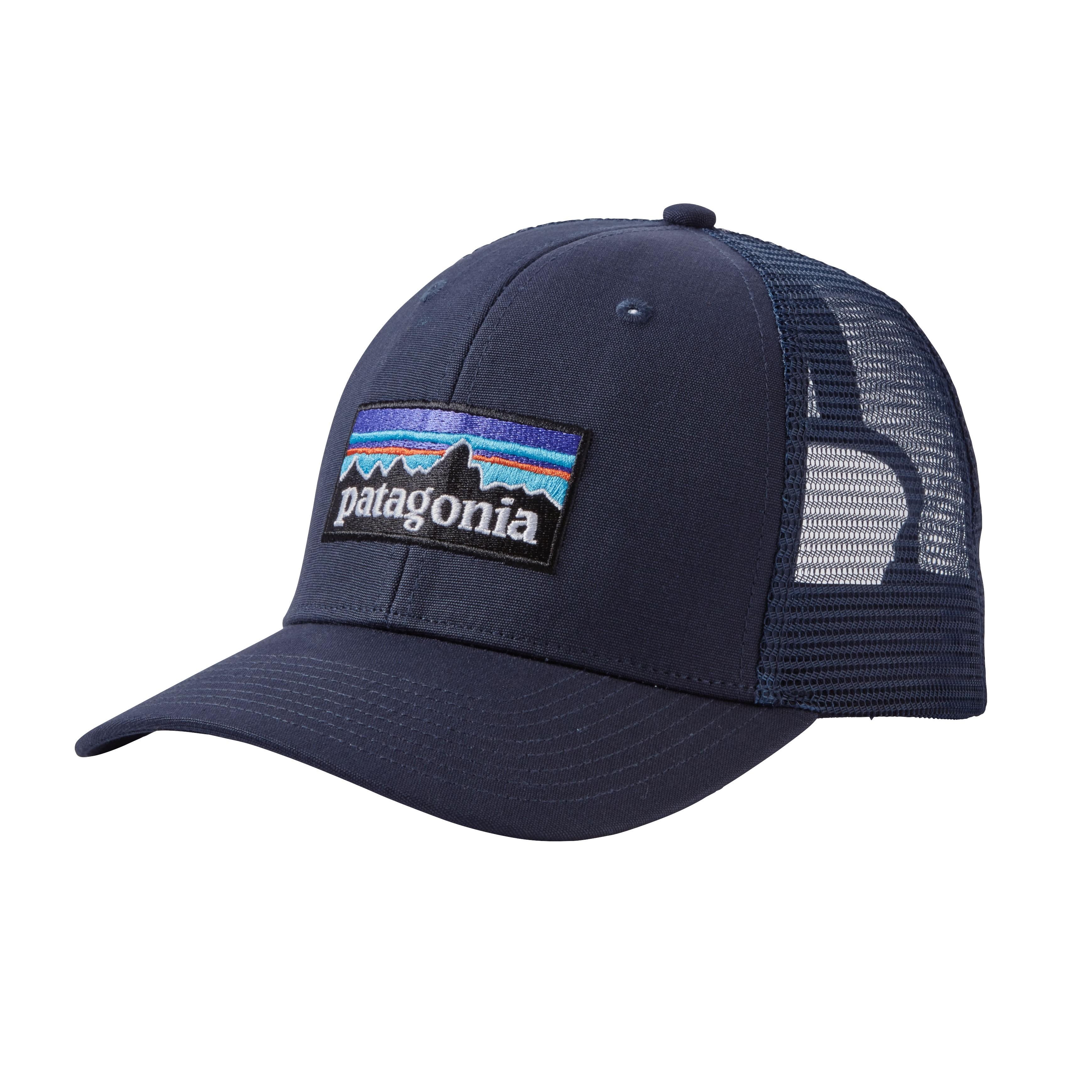 Patagonia P6 Trucker Hat- Navy Blue w/Navy Blue (NVNV)