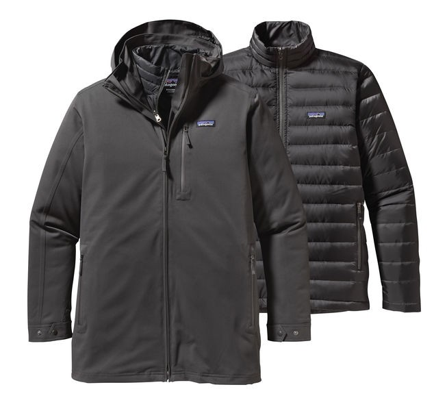 Patagonia Mens Forge Grey Tres 3-in-1 Parka