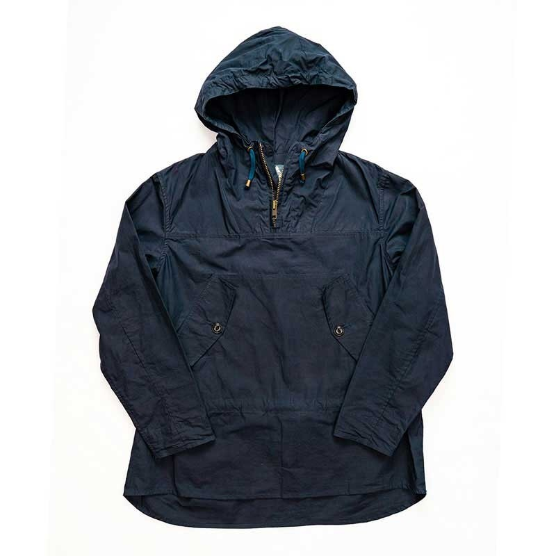 Yarmouth Oilskins Hooded Smock : Navy